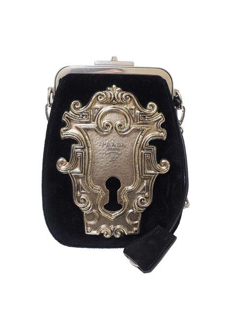 Prada Catwalk velvet lock purse NWOT Prada | Bags | BANDOLIERANERO