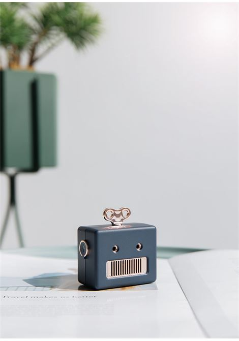 qushini | Accessories | ROBOT SPEAKERBLU