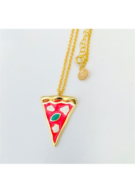 Pizza Silver Necklace Rossella Catapano | Necklaces | PIZZAORO