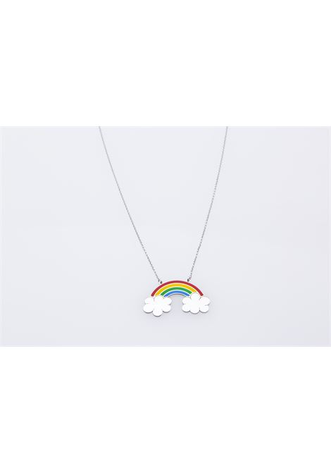 Rainbow silver necklace Rossella Catapano | Necklaces | RAINBOWARGENTO