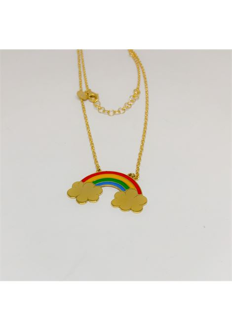 Rainbow silver necklace Rossella Catapano | Necklaces | RAINBOWORO