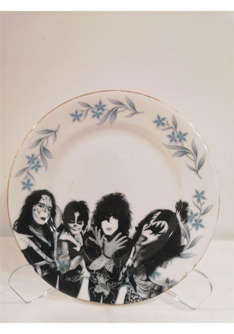 Kiss Gene Simmons  vintage plate Sabotage | Piatto | PIATTO VINTAGEKISS GENE