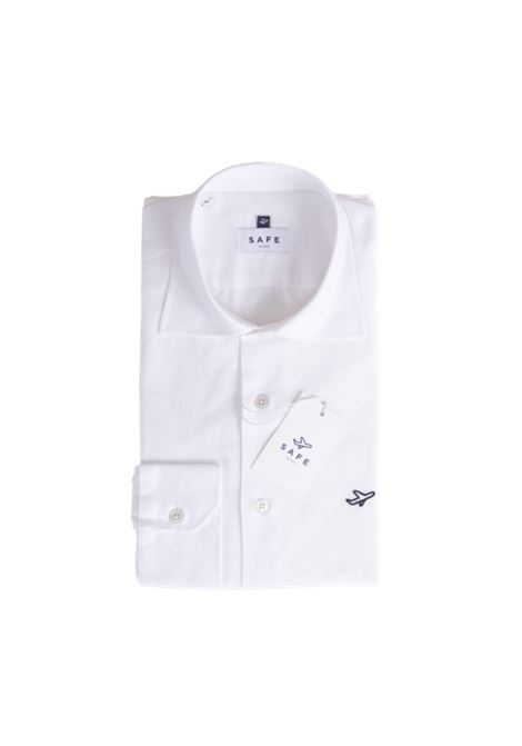 Safe Milano White cotton shirt Safe Milano | Shirts | CAMICIA COLLOBIANCA