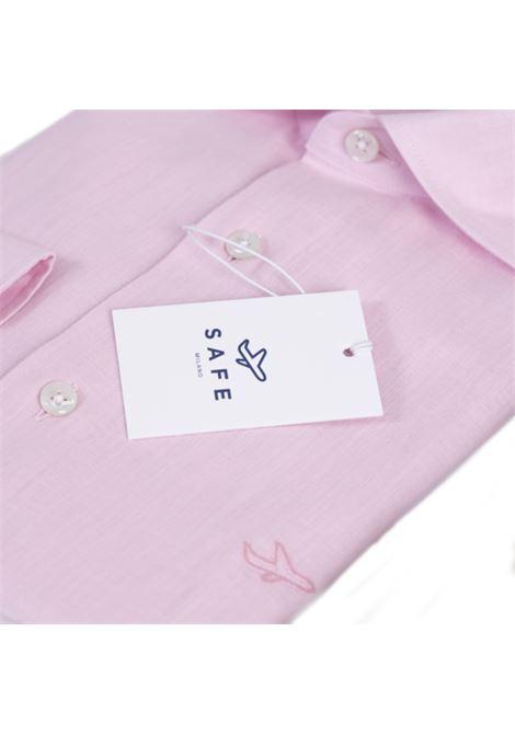 Safe pink cotton shirt Safe Milano | Camicia | CAMICIA COLLOROSA