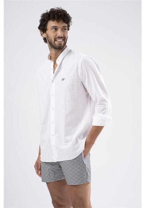 Safe Milano white cotton shirt Safe Milano | Camicia | TSHIRTBIANCO