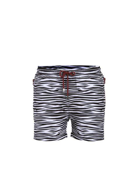 Safe Milano | Beachwears | ZEBRABIANCO NERO