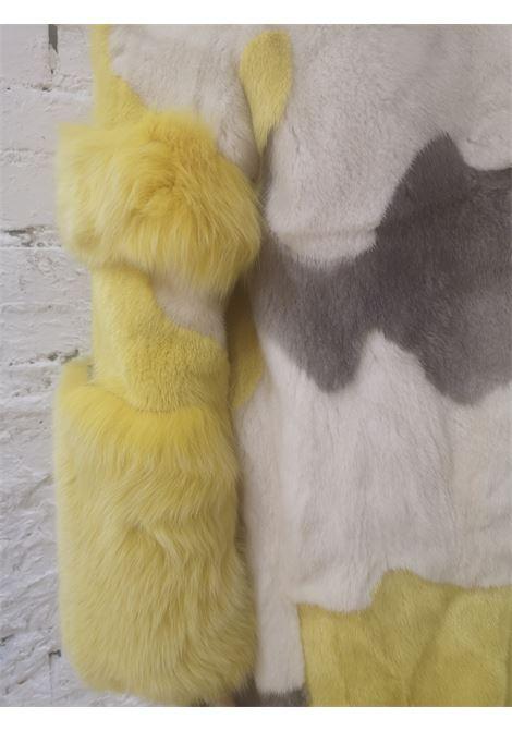 Saga Furs white yellow grey mink Fur Saga furs |  | SAGE FURSMULTI