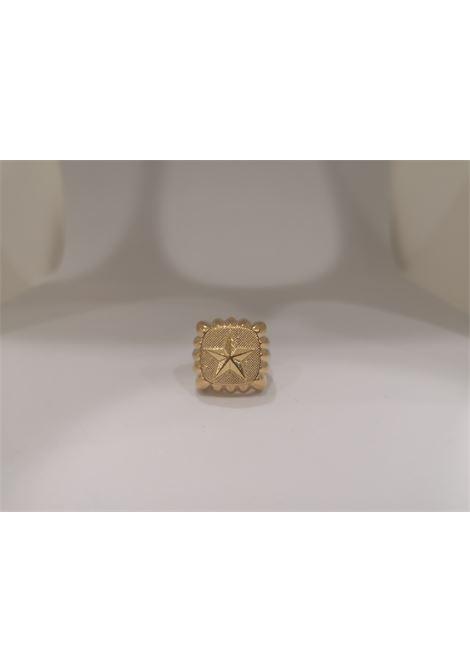 Gold plated star ring Scognamiglio Gioielli | Anello | QUADRATOSTELLA