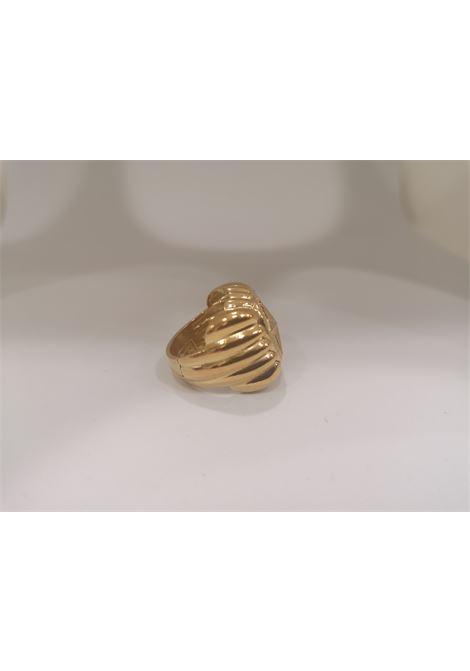 Gold plated star ring Scognamiglio Gioielli | Rings | QUADRATOSTELLA