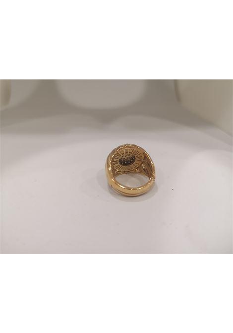 Gold plated zirconia ring Scognamiglio Gioielli | Anello | TONDO KZKZ