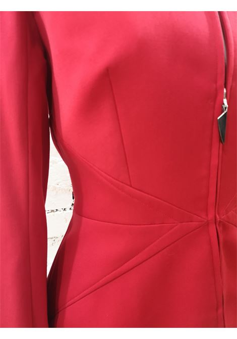 Thierry Mugler Red Jacket Thierry Mugler | Jackets | AT020S25WF0ROSSA
