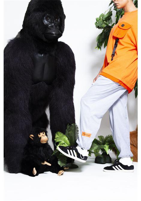 Twicetoonice grey cotton pants Twicetoonice | Trousers | AWP02GGRIGI