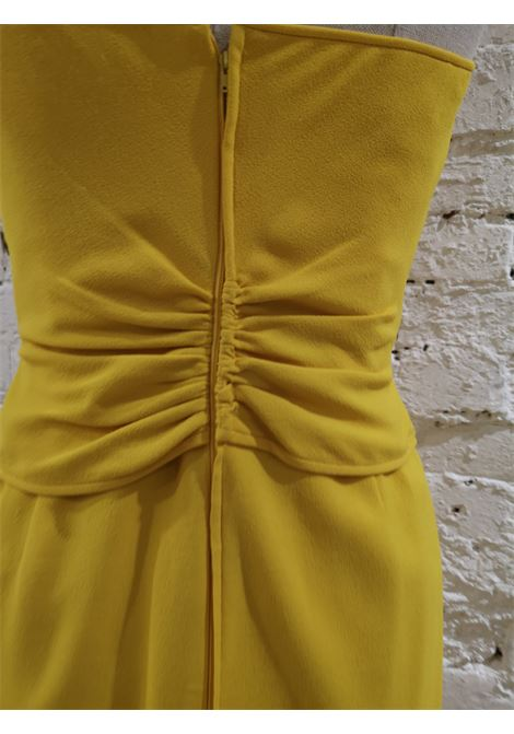 Ungaro Yellow cupro Dress Ungaro | Dresses | AT020XS10D0CSGIALLO
