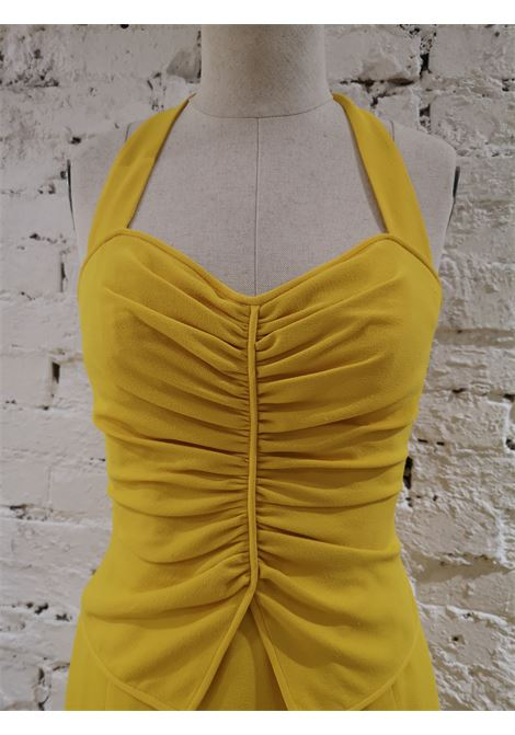 Ungaro Yellow cupro Dress Ungaro | Abito | AT020XS10D0CSGIALLO