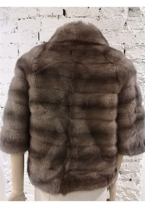 Valentino | Furs | PELL KIMONOGRIGIO