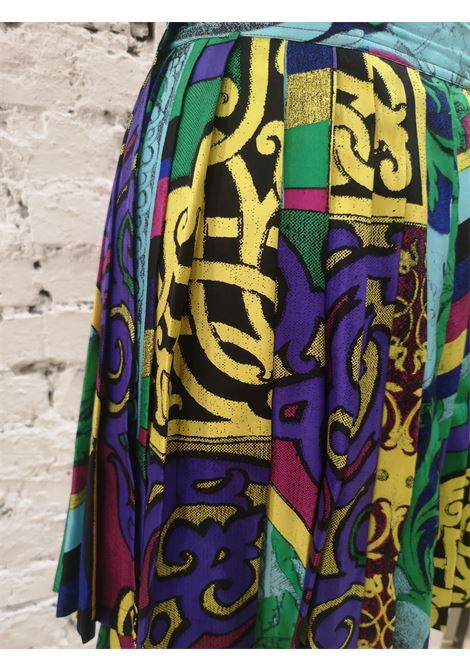 Versace Silk multicoloured Skirt Versace | Skirt | AT020XS35RGV0MULTI