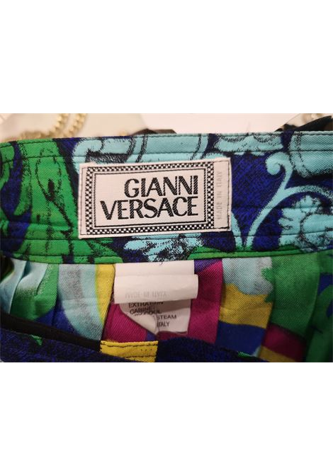 Versace Silk multicoloured Skirt Versace | Gonna | AT020XS35RGV0MULTI