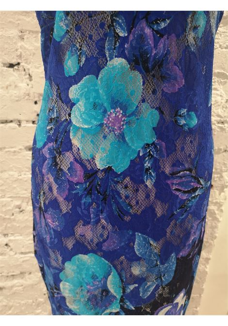 Istante by Gianni Versace multicoloured flower long dress Versace | Dresses | AT020XS3750EVISTANTE BLU