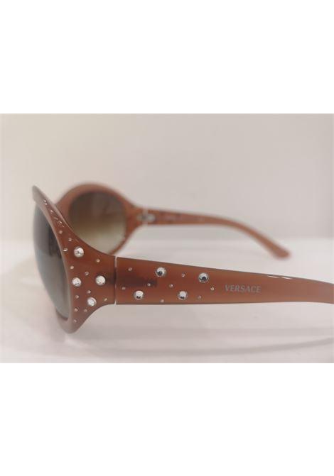 Versace brown swarovski sunglasses NWOT Versace | Occhiali | NM02090CD0SCCMARRONE SWAROVSKI