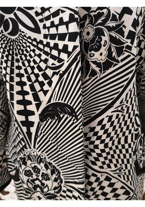 Versus by Versace Black and White blazer / jacket Versace | Blazers | SD02050XSDB NERO