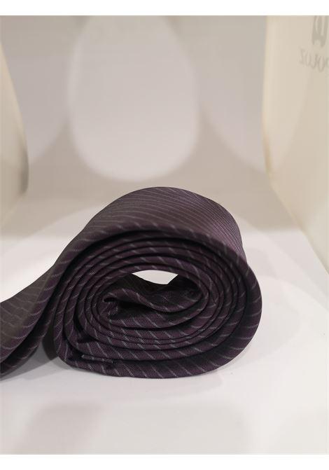 Kruder purple silk tie VIntage | Cravatta | CRAVATTA24