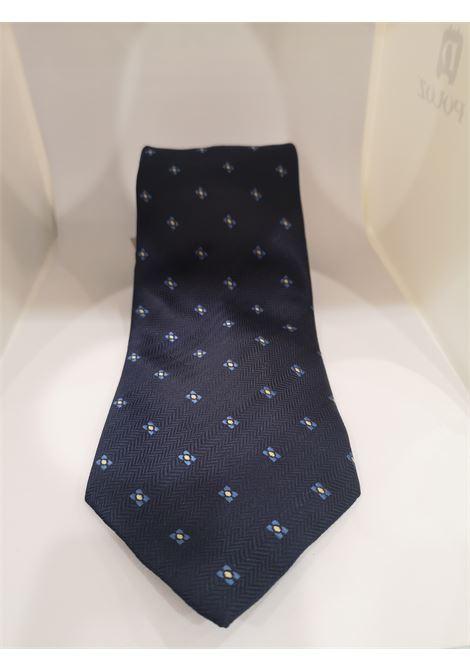 Charro Blue silk tie NWOT VIntage | Cravatta | CRAVATTA25