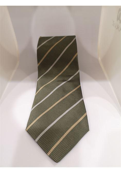 Cerruti 1881 green silk tie VIntage |  | CRAVATTA28