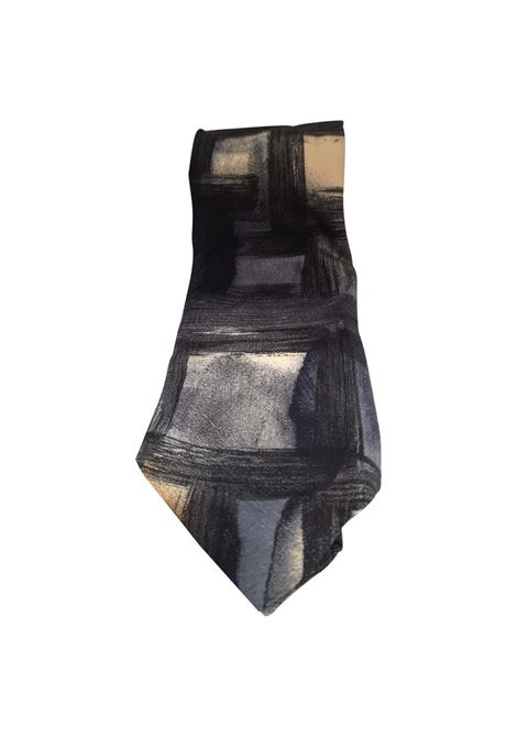 Hubert multicoloured silk tie VIntage |  | CRAVATTA29