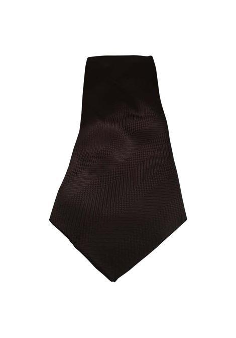 Vintage brown silk  tie VIntage |  | CRAVATTA39