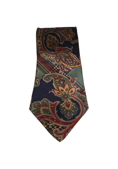 Effetto seta multicoloured silk tie VIntage |  | CRAVATTA46