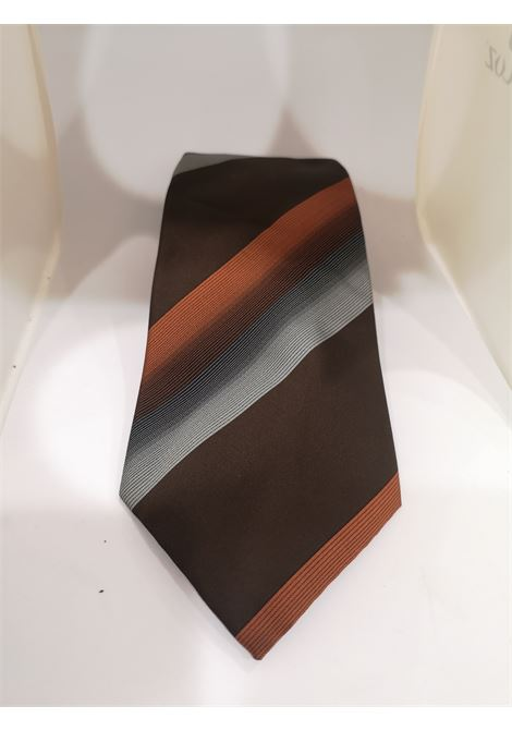 Effetto seta multicoloured silk tie VIntage | Cravatta | CRAVATTA56
