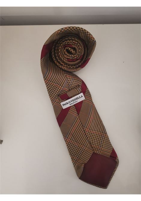 Paolo Vessella multicoloured tie VIntage |  | CRAVATTA9