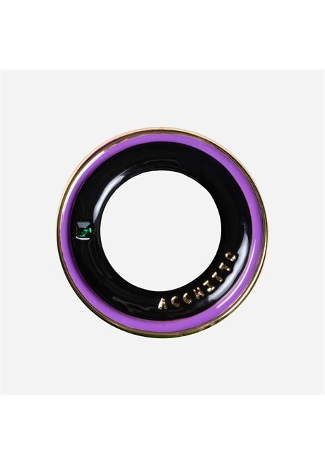 Aequor hoop viola Acchitto | Orecchini | AEQUOR HOOPVIOLA