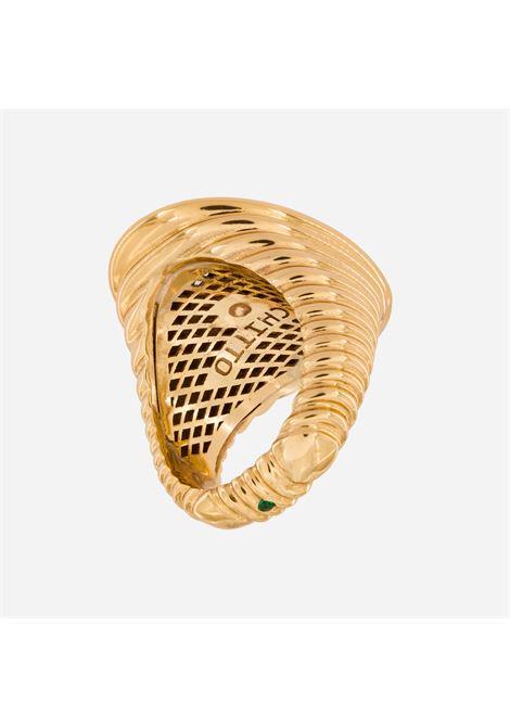 Acchitto mechanism obiter ring Acchitto | Rings | OBITERORO