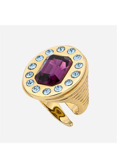 Purple sol ring Acchitto | Rings | SOLVIOLA