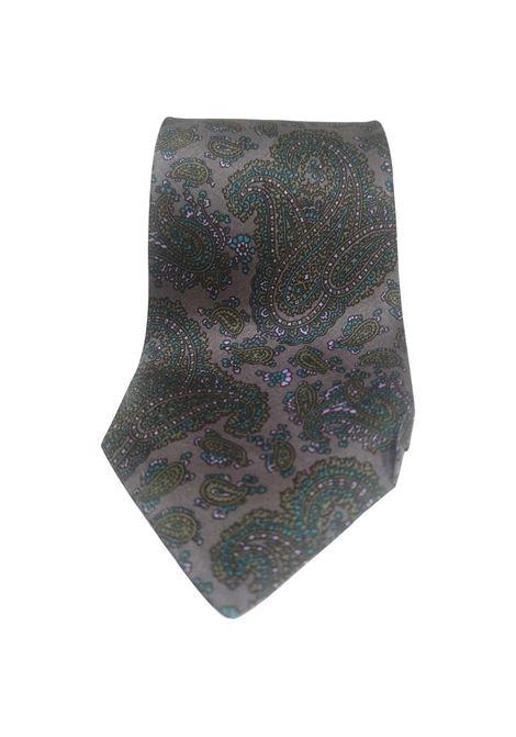 Giorgio Armani Vintage multicoloured silk tie Armani | Cravatta | TIEGRIGIO MULTI