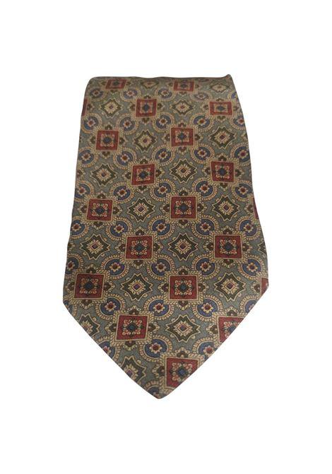 Giorgio Armani light green multicoloured silk tie Armani |  | TIEVERDE