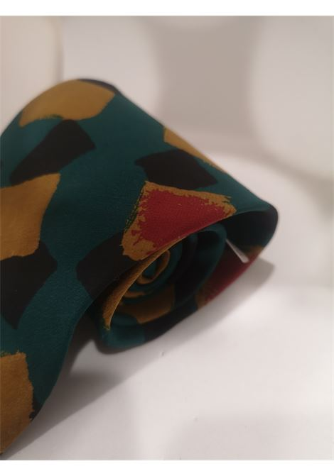 Boss Vintage multicoloured silk tie Boss | Cravatta | MARRONEVERDE