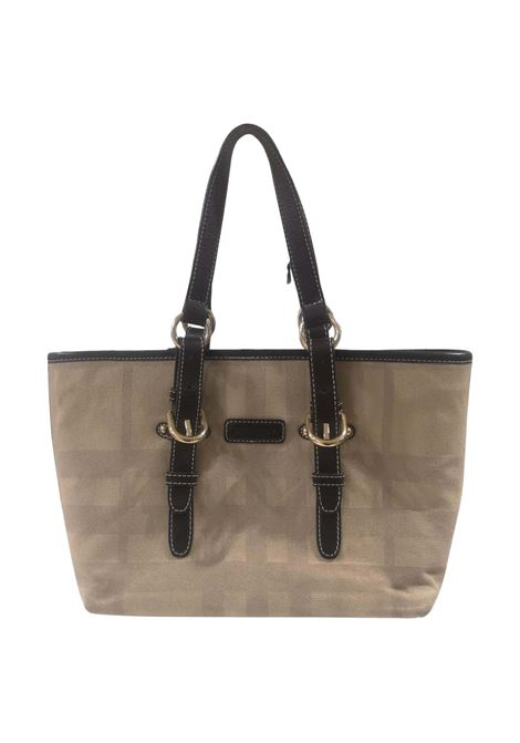 Burberry fabric and leather shoulder bag Burberry | Bags | BORSA-