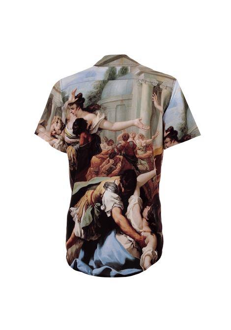 Butnot camicia dipinto Butnot | Camicia | U9173DIPINTO RICAMO