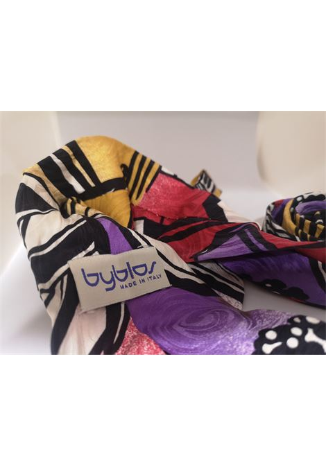 Byblos multicoloured silk tie Byblos | Cravatta | MULTICOLOUREDTIE
