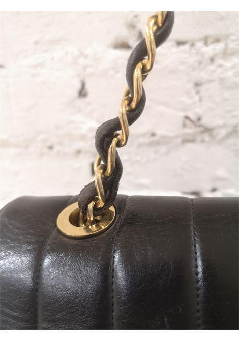Chanel black leather gold hardware CC logo shoulder bag Chanel | Bags | AMGV021XS26WC00NERO