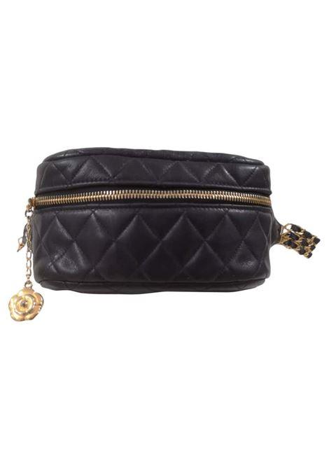 Chanel blue navy gold hardware fanny pack Chanel | Fanny pack | AMGV021XSA150DC0BLU