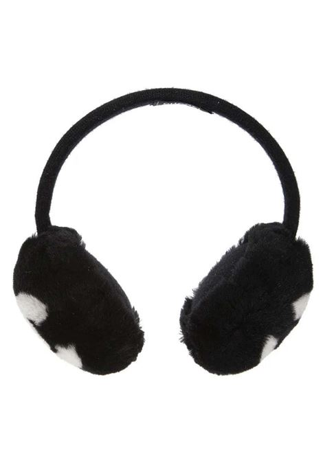 Chanel Black with white CC logo earmuffs Chanel | Accessorio | AT021AFE58CS0NERO