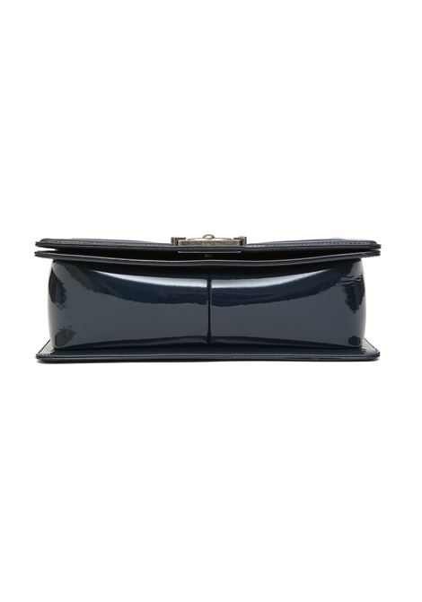 Chanel boy blue navy patent leather shoulder bag Chanel | Borsa | BOY BLUE NAVYBLUE NAVY