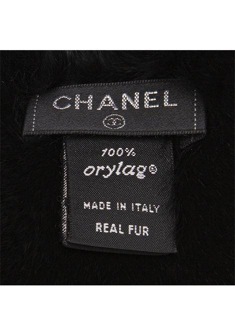 Chanel lapin scarf Chanel | Sciarpa | CONIGLIOLAPIN NERO