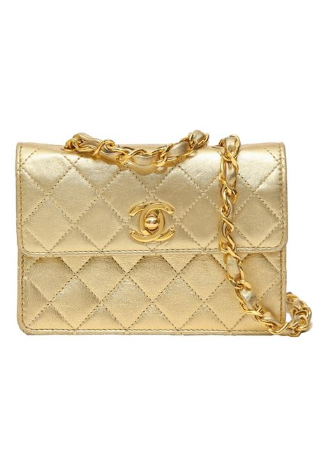 Chanel gold leather shoulder bag Chanel | Borsa | GOLDVINTAGE