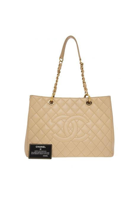 Chanel beige GST Leather shoulder bag Chanel | Borsa | GST BEIGEBEIGE