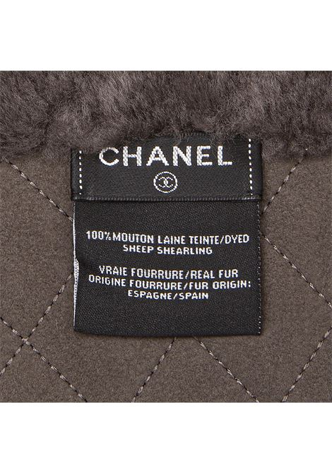 Chanel mouton scarf Chanel   Sciarpa   MONTONEGRIGIO