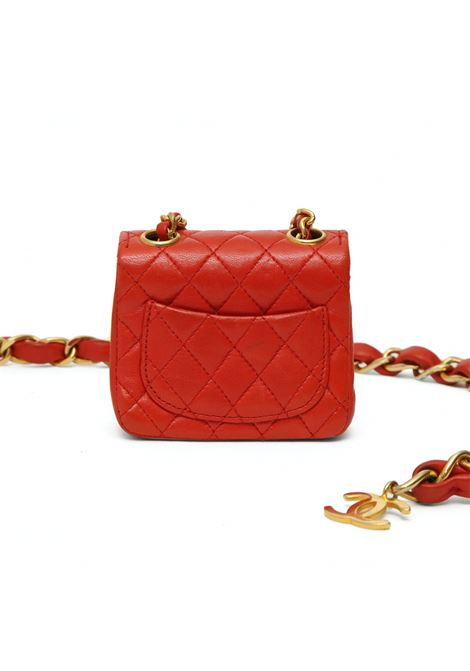 Chanel red leather belt with micro bag Chanel | Borsa | ROSSA CINTURAROSSO